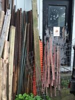 Fencing poles & material