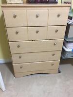 Bedroom dresser (perfect condition)