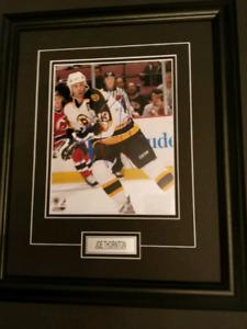 Joe Thornton Autographed Boston Bruins 8x10 Framed