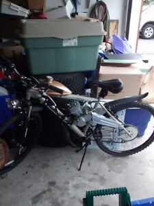 selling mountain bike with motor 75cc
