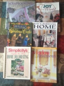 Variety of Sewing/Crafting books