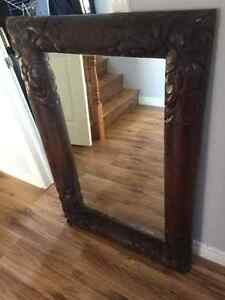 Solid Acacia Wood Mirror