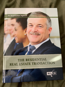 The Residential Real Estate Transaction (OREA/RECO) new 10/10