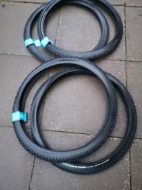 New schwalbe impac 29x2.1 mountain bike tyres