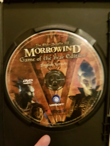 The Elder Scrolls 3: Morrowind - Game of the year edition PC