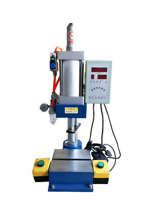 Us Stock Pneumatic Punch Press Machine 500kg Pressure With Display Screen Best