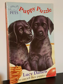 Puppy Puzzle Book