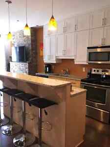 Fully furnished condo!! Quiet and modern