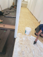 Professional flooring renovation