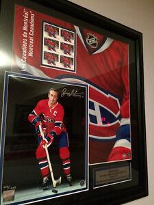 Cadre Jean Beliveau Canadiens de Montreal