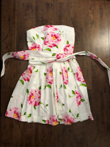 Abercrombie & Fitch Strapless Summer Dress Size 0-2