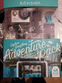 Kitvision 4k camera Adventure Pack