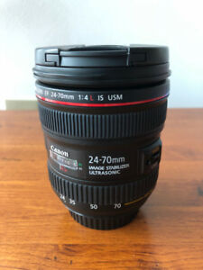 Canon 24-70mm f4 L USM - Excellent Condition/Almost New
