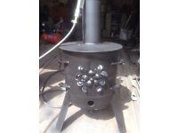 Wood /coal burner