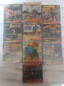 Various Classic Floppy Disk video games