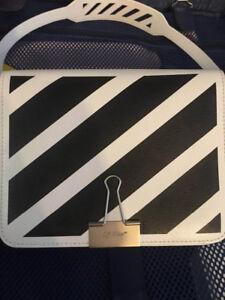 90% brand new off-white handbag for sale