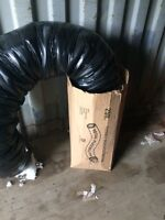 25ft of flexible insulated ducting