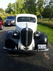 1938 Plymouth Restoration Project