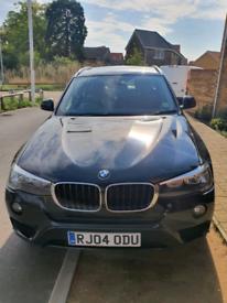 BMW X3 xDrive with brown heated seats