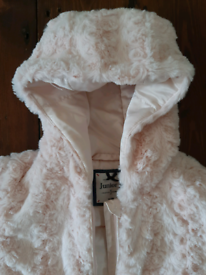 Jasper Conran Baby fauxfur snowsuit
