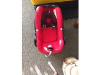 Maxicosi pebble car seat