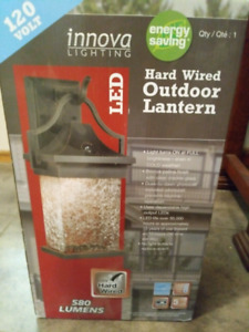 Out door energy saving LED lights brand new in box