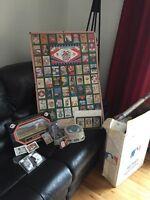 Baseball memorabilia lot