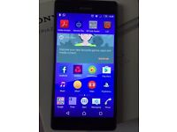 Sony Experia Z3 unlocked boxed. Perfect condition