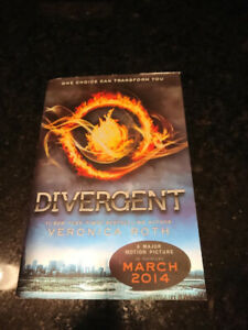 "Used Veronica Roth's ""Divergent"""