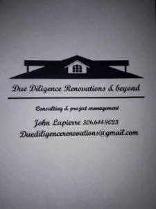Due Diligence Renovations & Beyond