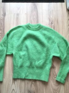 Pull vert en laine chez H&M