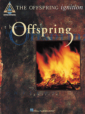 THE OFFSPRING IGNITION RECORDED GUITAR VERSIONS HAL LEONARD