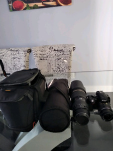Tamron 70-200mm for Nikon and D5100 for sale