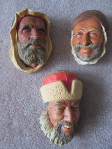 Bossons Decorative Heads.