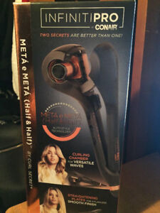 """Hair Curler, Infinity PRO Curl Secret"""" by CONAIR, Brand New!"""