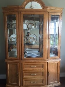 Dining Room Table and Buffet and Hutch set -Trade or sell