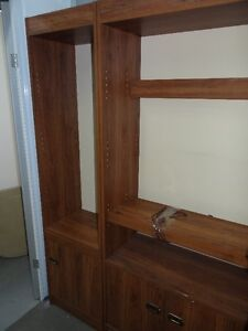 wooden storage units, furniture for sale