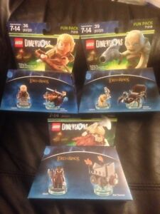 Lego Lord of the Rings Dimension Fun Packs
