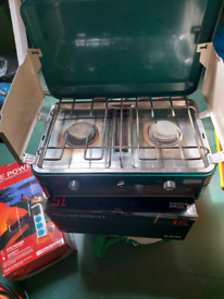Camping double stove