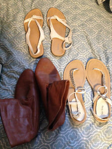 Spring Sandals and Boots