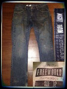 Jeans-True Religion, Hollister, Urban Heritage, Freeworld