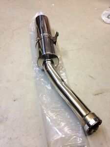 FZ1 Slip on Exhaust Pipe and Windscreen