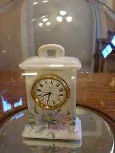 Grayshott Pottery Clock Made in England.
