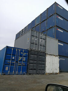 20' STD SHIPPING/STORAGE CONTAINERS (SEA CANS) COD