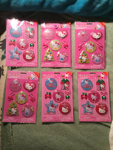 Hello Kitty Confetti Stickers Lot
