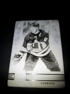 Canadian Tire hockey cards. 1/1# printing plate.