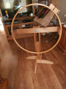 Hoop Frame & Stand for Rug Hooking,Quilting,Needlework