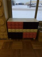 Kids bedroom Lego furniture