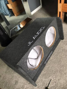 Two 12 inch Subwoofer BOX