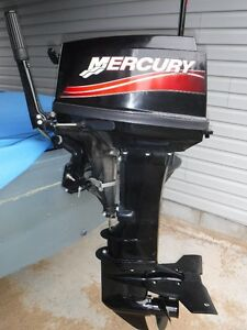 Mercury outboard 30hp electric start